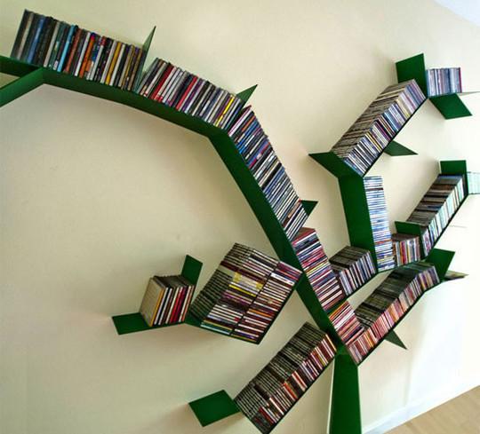 20 Most Creative And Unusual Bookshelf Designs 15