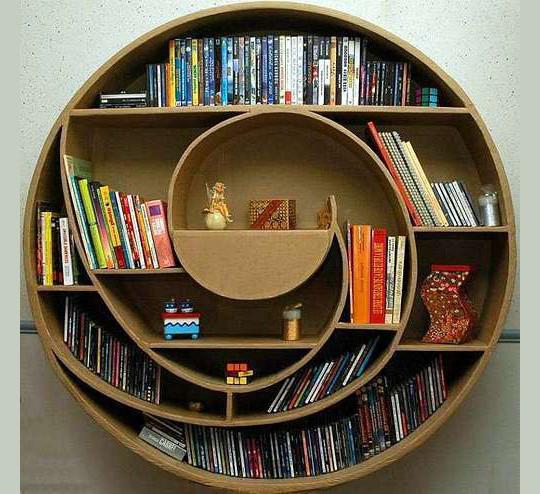 20 Most Creative And Unusual Bookshelf Designs 3