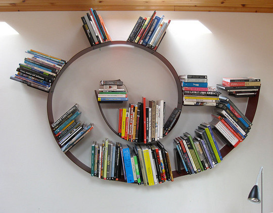 20 Most Creative And Unusual Bookshelf Designs 4