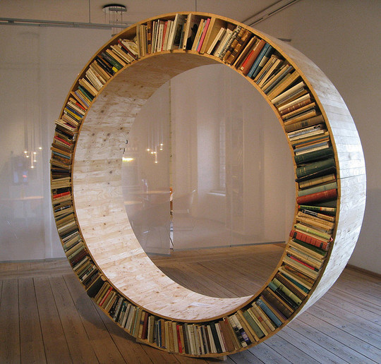 20 Most Creative And Unusual Bookshelf Designs 5