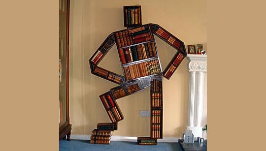 20 Most Creative And Unusual Bookshelf Designs 12