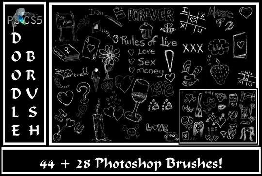 45+ Unusual And Free Adobe Photoshop Brush Sets 19