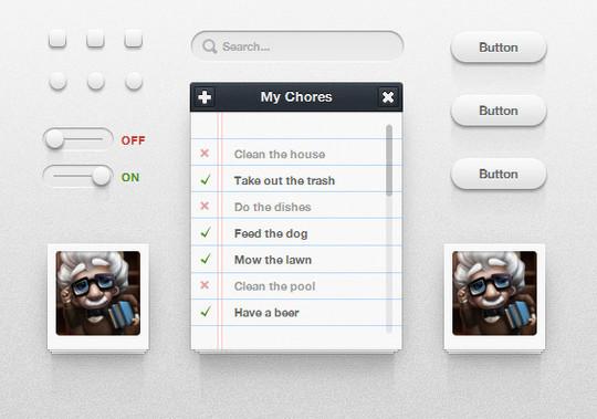 11 Useful And Free CSS UI Kits 6