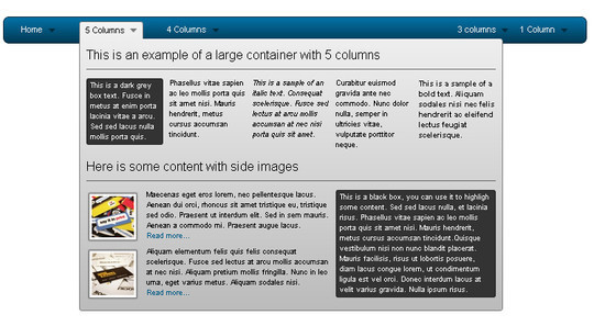 48 Free Dropdown Menu In HTML5 And CSS3 16
