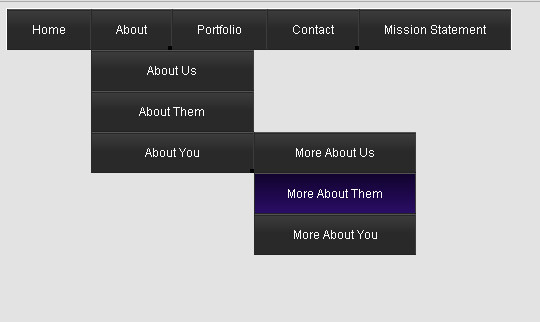 48 Free Dropdown Menu In HTML5 And CSS3 5