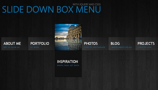 48 Free Dropdown Menu In HTML5 And CSS3 7