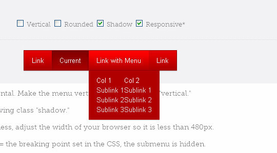 48 Free Dropdown Menu In HTML5 And CSS3 46