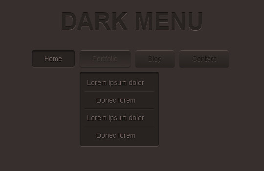 48 Free Dropdown Menu In HTML5 And CSS3 2