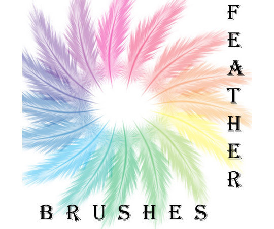 24 Free Photoshop Feather Brushes For Download 14