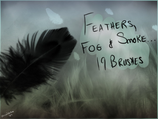 24 Free Photoshop Feather Brushes For Download 20