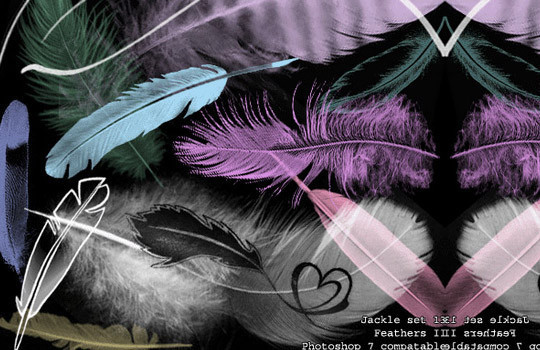 24 Free Photoshop Feather Brushes For Download 22