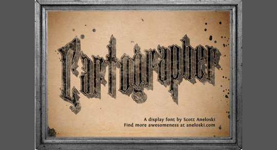 22 Free Gothic Fonts For Designers 7