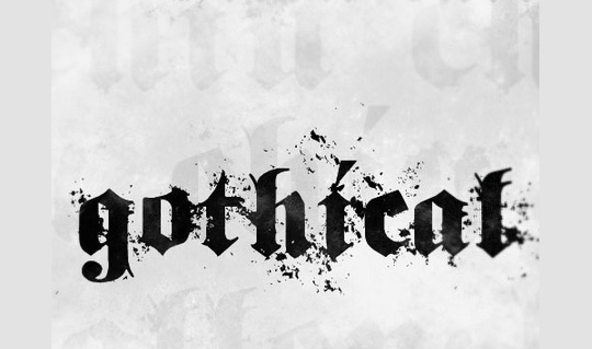 22 Free Gothic Fonts For Designers 16