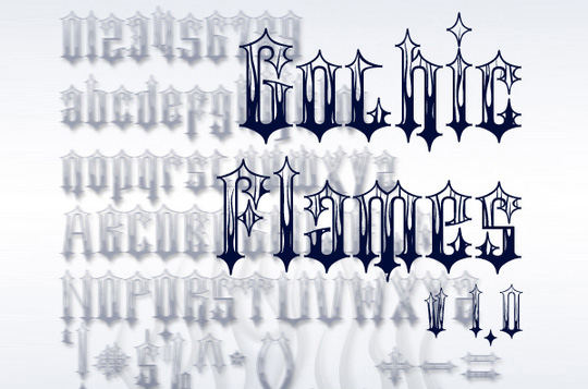 22 Free Gothic Fonts For Designers 17
