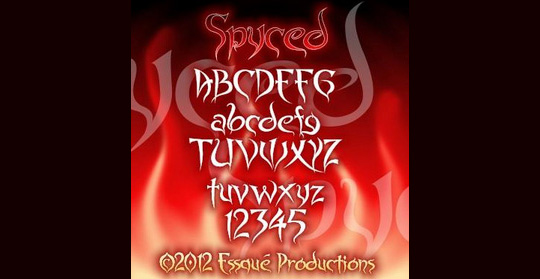22 Free Gothic Fonts For Designers 19
