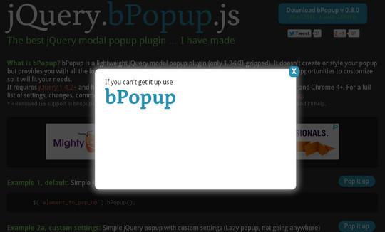 13 Very Useful jQuery Modal Plugins 5