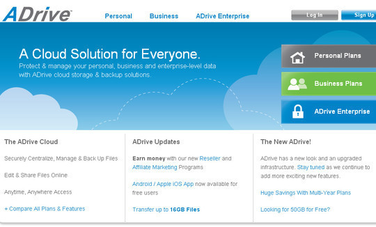 13 Excellent Free Online Storage Tools 8