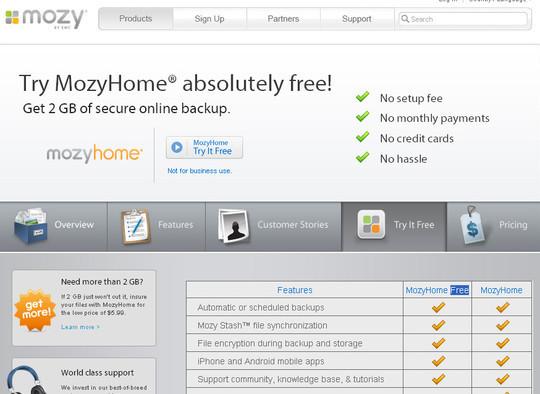 13 Excellent Free Online Storage Tools 7