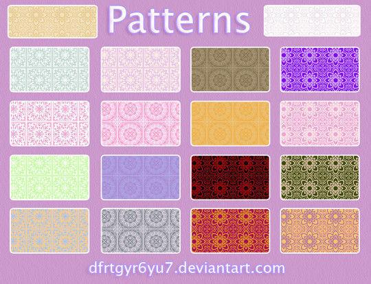 45 Unique & Free Photoshop Patterns 7