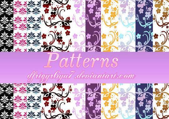 45 Unique & Free Photoshop Patterns 6