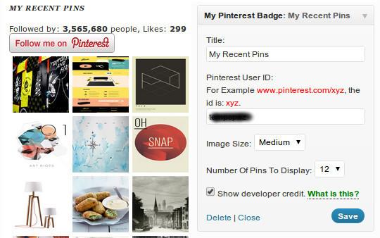 15 Cool Pinterest Plugins For WordPress 13