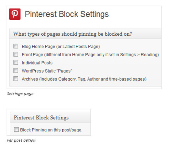 15 Cool Pinterest Plugins For WordPress 4