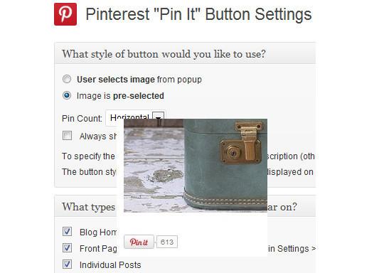 15 Cool Pinterest Plugins For WordPress 9