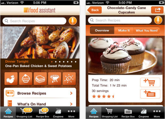 22 Free Food And Recipe iPhone Apps 17