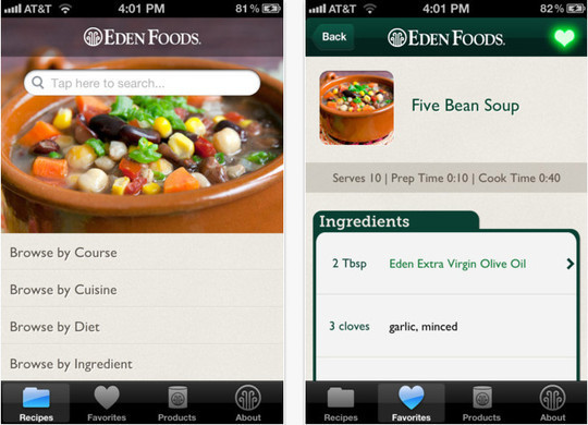22 Free Food And Recipe iPhone Apps 21
