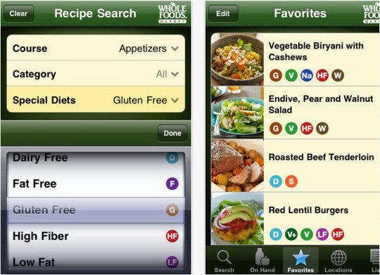 22 Free Food And Recipe iPhone Apps 5