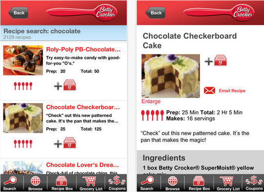 22 Free Food And Recipe iPhone Apps 6