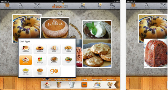 22 Free Food And Recipe iPhone Apps 9