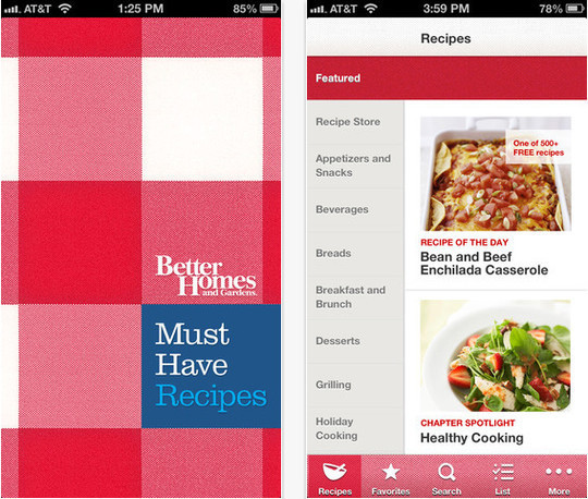 22 Free Food And Recipe iPhone Apps 10