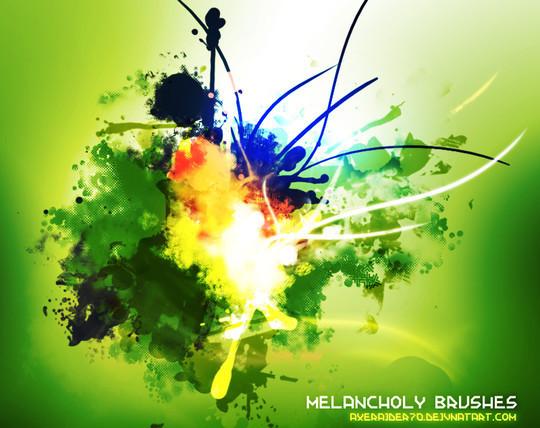 45+ Free Vibrant Fractal Photoshop Brush Packs 17