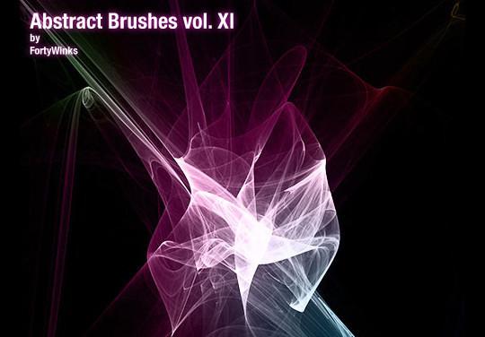 45+ Free Vibrant Fractal Photoshop Brush Packs 18