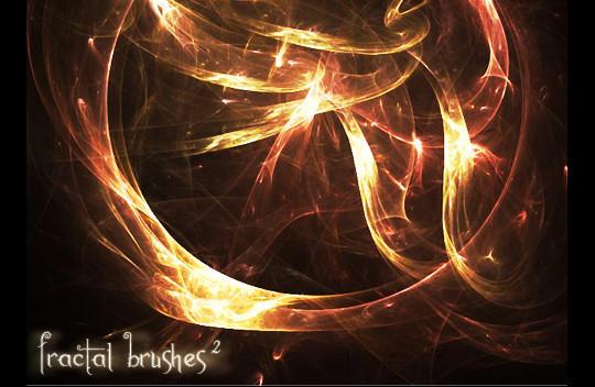 45+ Free Vibrant Fractal Photoshop Brush Packs 3