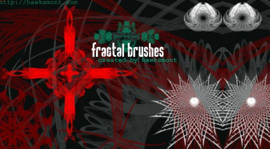 45+ Free Vibrant Fractal Photoshop Brush Packs 7