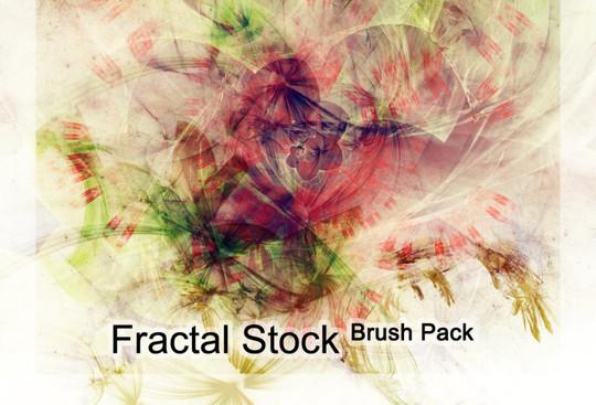 45+ Free Vibrant Fractal Photoshop Brush Packs 28