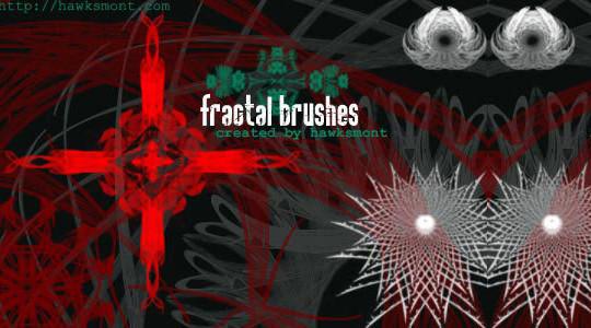 45+ Free Vibrant Fractal Photoshop Brush Packs 32