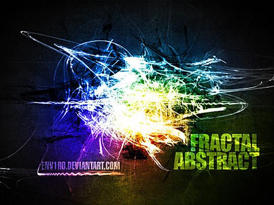 45+ Free Vibrant Fractal Photoshop Brush Packs 33