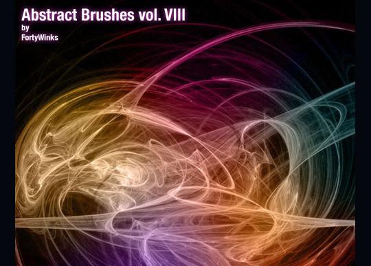 45+ Free Vibrant Fractal Photoshop Brush Packs 40