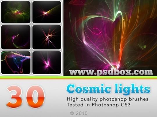 45+ Free Vibrant Fractal Photoshop Brush Packs 41