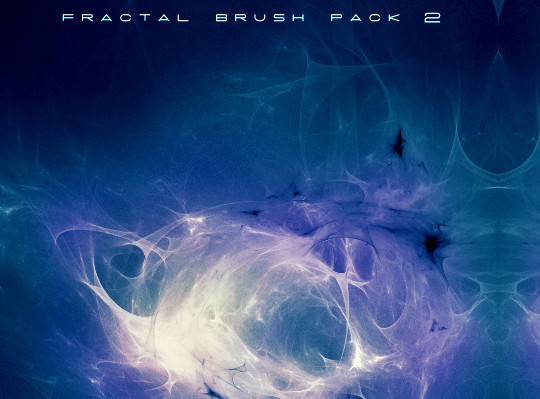 45+ Free Vibrant Fractal Photoshop Brush Packs 14