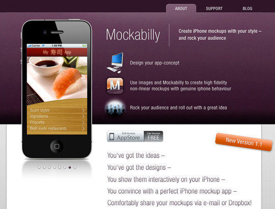 The Ultimate Collection Of Prototype And Wireframe Tools For Mobile And Web Design 14
