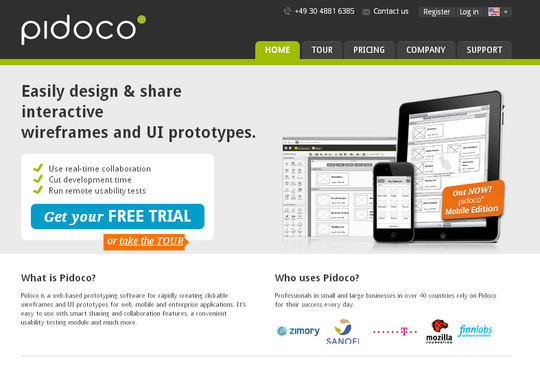 The Ultimate Collection Of Prototype And Wireframe Tools For Mobile And Web Design 23