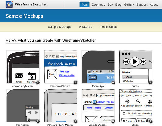 The Ultimate Collection Of Prototype And Wireframe Tools For Mobile And Web Design 51