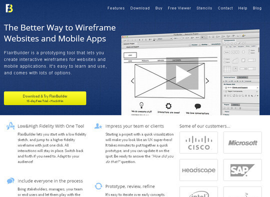 The Ultimate Collection Of Prototype And Wireframe Tools For Mobile And Web Design 25