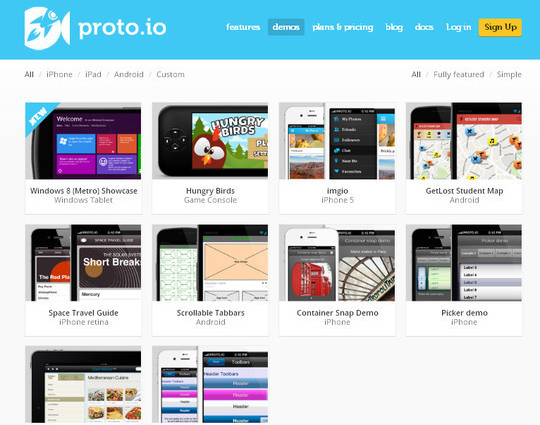 The Ultimate Collection Of Prototype And Wireframe Tools For Mobile And Web Design 18