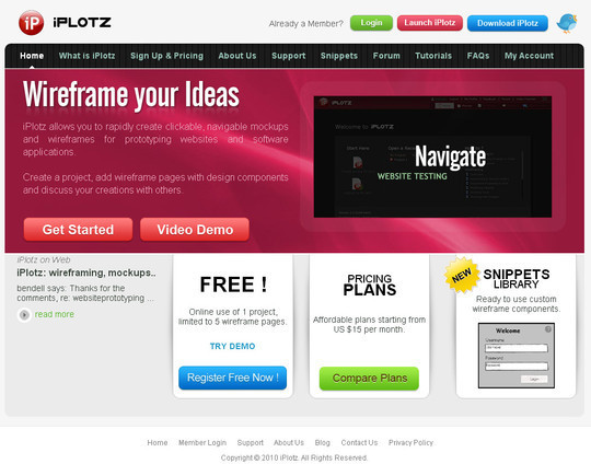 The Ultimate Collection Of Prototype And Wireframe Tools For Mobile And Web Design 8
