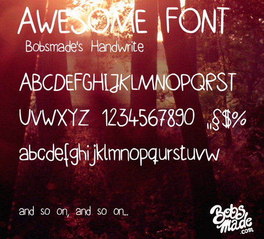 45 New High-Quality Free Fonts For Designers 26